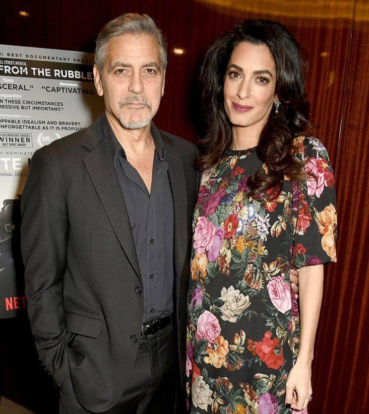 George Clooney Alexander Clooney