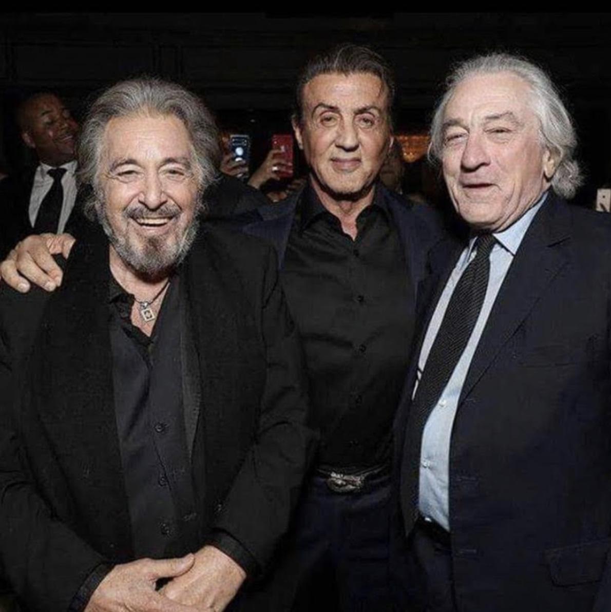 Al Pacino, Evander Holyfield, Quincy Jones, Robert De Niro ...